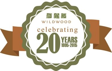 wildwood 20 year logo