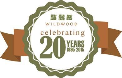 Wildwood 20 Year Logo