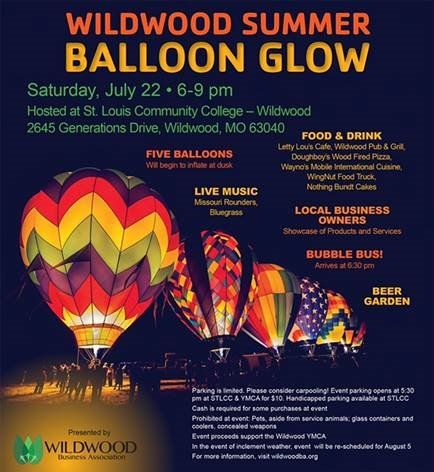 Wildwood Summer Balloon Glow - July 22, 2017 by the Wildwood Business Association
