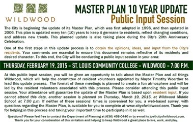 wildwood master plan update information