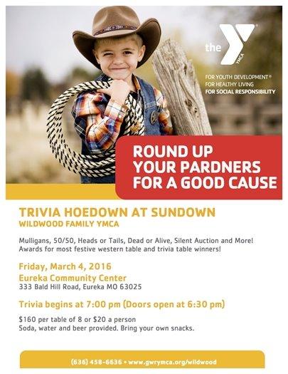 Trivia Hoedown at Sundown - YMCA