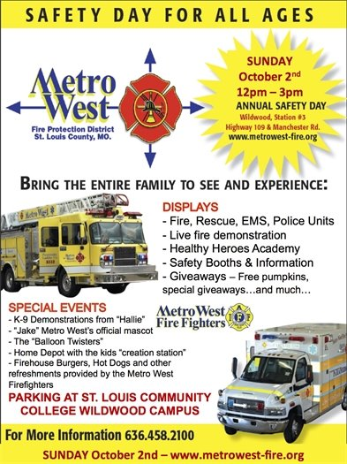 Metro West Fire Protection District's Safety Day - 10/02/2016