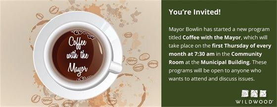 Coffee with the Mayor - November 3, 2016 @ City Hall