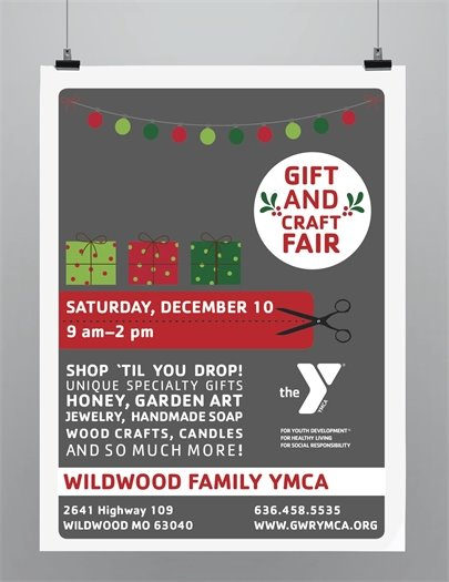 Wildwood Family YMCA - Gift and Craft Fair - December 19, 2016