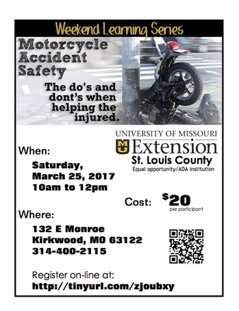 MU Extension Course - Motorcycle Accident Safety Course