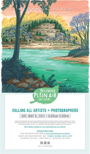 Plein Air Art Event by the City of Wildwood - May 6, 2017