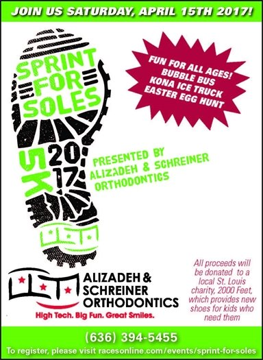Sprint for Soles 5K 2017 - April 15, 2017