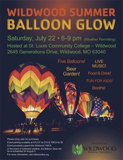 Wildwood Summer Balloon Glow - July 22, 2017