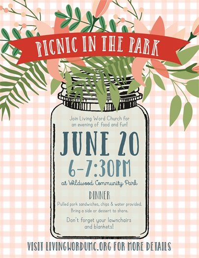 Living Word Church - Picnic in the Park - June 20, 2017