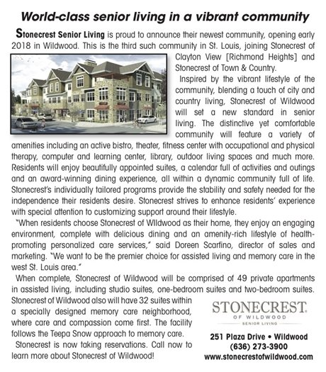 Business Profile - Stonecrest of Wildwood
