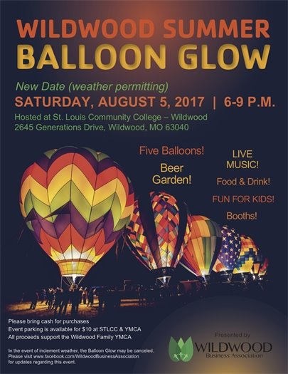 WBA Wildwood Summer Balloon Glow - August 5, 2017