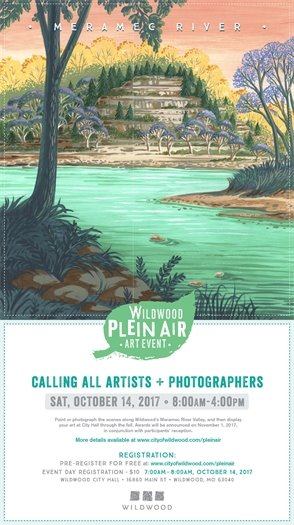 Plein Air Event - October 14, 2017 - City of Wildwood