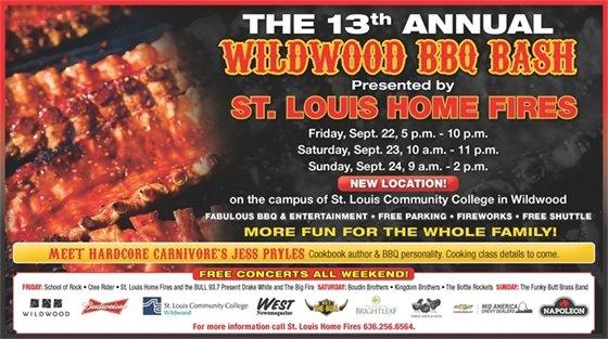 13th Annual Wildwood BBQ Bash - September 22 through 24, 2017