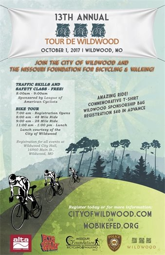 13th Annual Tour de Wildwood - October 1, 2017