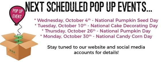 Pop Up Events in October - City of Wildwood