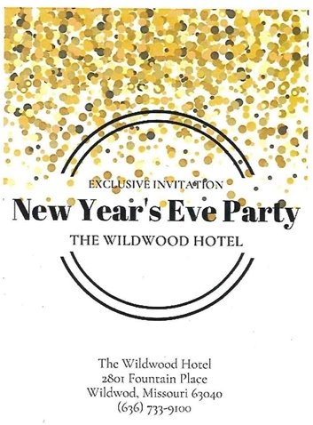 The Wildwood Hotel - New Year's Eve Party
