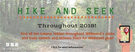 Hike and Seek for 2018 - City of Wildwood