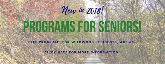 Programs for Seniors - City of Wildwood - 2018