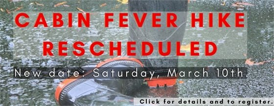Cabin Fever Hike @ Al Foster Memorial Trailhead - March 10, 2018