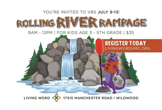 Rolling River Rampage at Living Word Church, Wildwood, Mo.