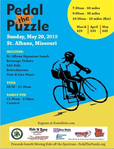 Pedal the Puzzle - St. Albans, Missouri