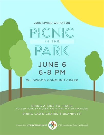 Picnic in the Park - Living Word Church - June 6, 2018