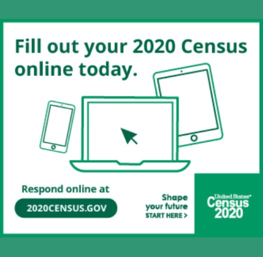 Wildwood Counts - Please Complete Your 2020 Census Form