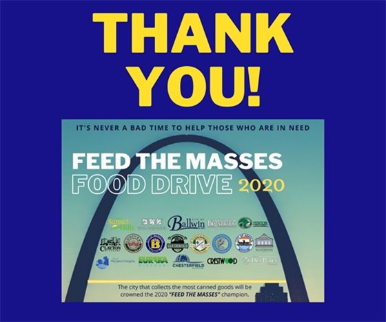 """Thank You for Participating in """"Feed the Masses"""""""