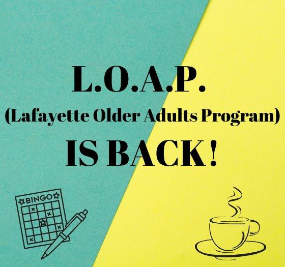 Lafayette Older Adults Program - 09-13-2021
