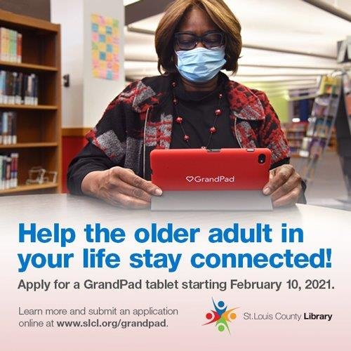 Help the Older in Your Life Stay Connected - Applications Being Accepted