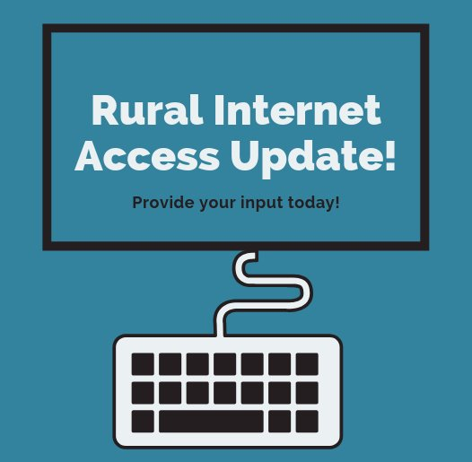 Rural Internet Access Update