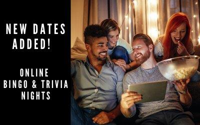 They're Back ... Bingo and Trivia Nights