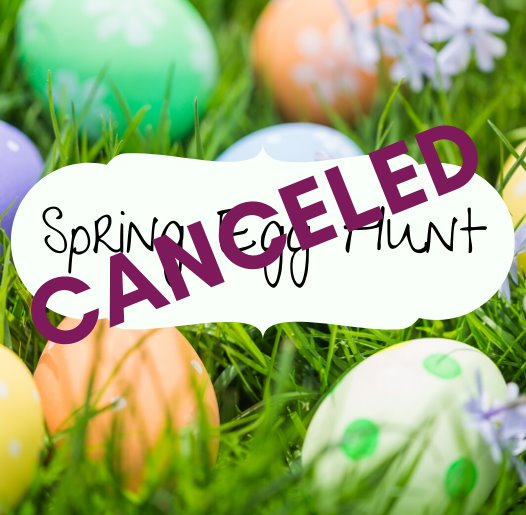 Spring Egg Hunt - Canceled