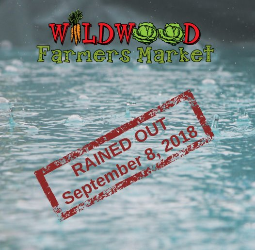 Farmers Market - Canceled this Saturday, September 8, 2018