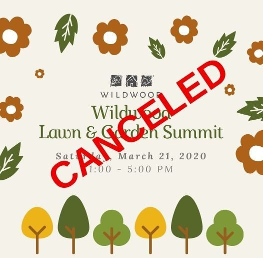 Summit Canceled - March 21, 2020
