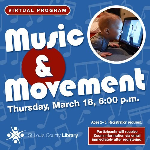 St. Louis County Library - Music & Movement - March 18.2021