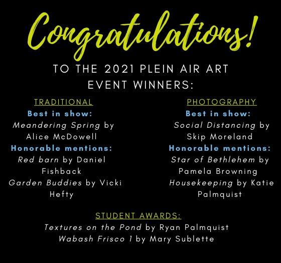 Plein Air Event Winners Announced