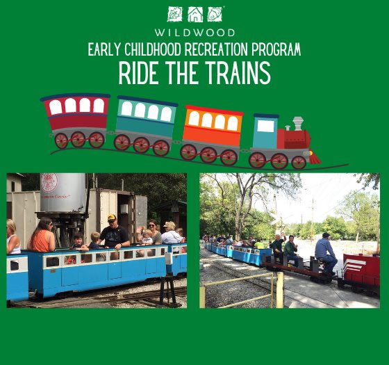 Ride the Trains - An Early Chilhood Recreation Event by the City of Wildwood