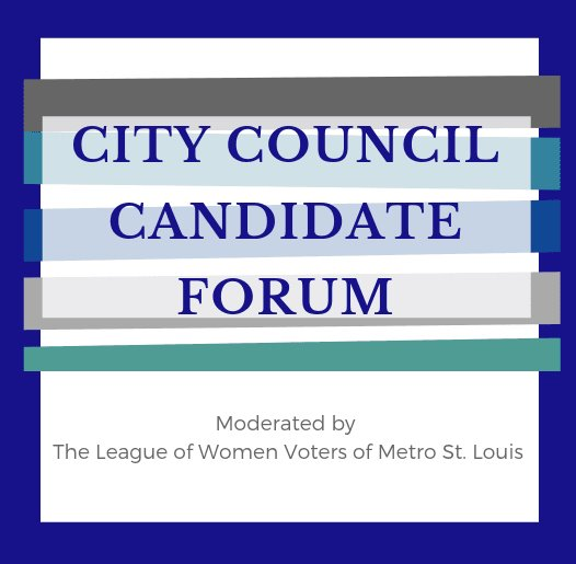 City Council Candidate Forum - February 27, 2019 - 7:00 p.m. to 9:00 p.m.