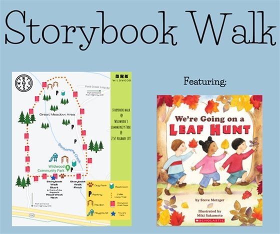 Storybook Walk in Community Park