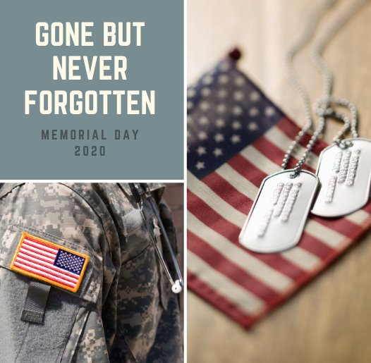 May 25, 2020 - Memorial Day