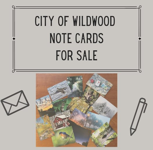 City of Wildwood Note Cards - Send Wildwood to Family and Friends