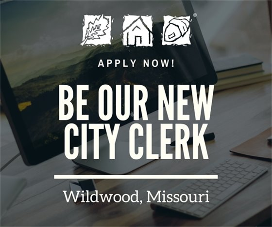 We are Hiring - City Clerk Position