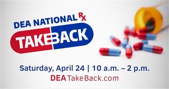 DEA National RX Takeback - April 24, 2021