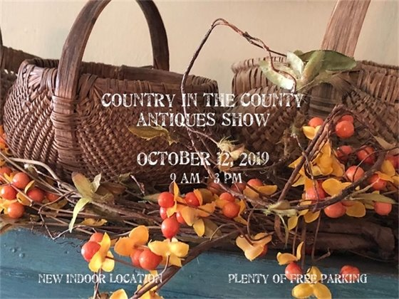 Country in the County Antique Show - October 12, 2019