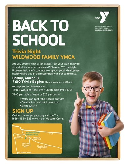 Wildwood Family YMCA - Trivia Night - March 8, 2019