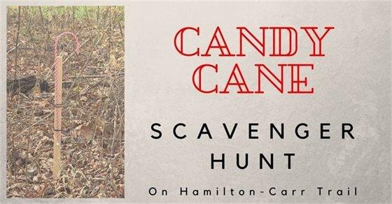 Candy Cane Scanvenger Hunt