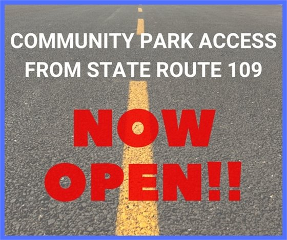 Park Road Opens on October 11, 2019