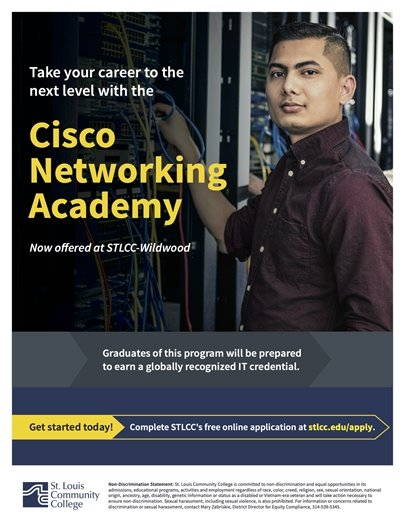 STLCC's Cisco Networking Academy @ Wildwood Campus