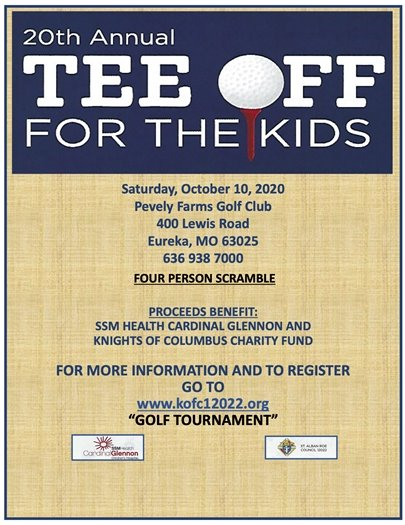 Tee Off for the Kids - SSM Health Cardinal Glennon & Knights of Columbus Charity Fund